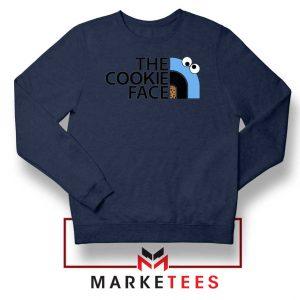 The Cookie Face Designs Navy Blue Sweatshirt