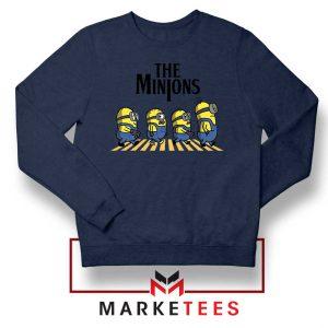 The Minions Abbey Road Navy Blue Sweatshirt