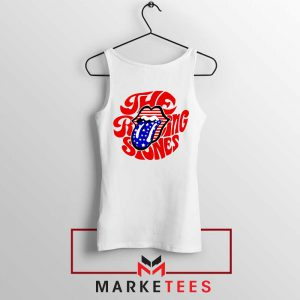 The Rolling Stones USA Tongue Tank Top