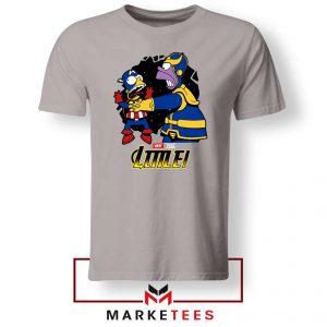 Why You Little Homer Thanos Tshirt