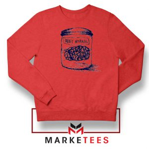 Young Frankenstein Abby Normal Red Sweater