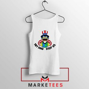 Uncle Sam Simpson Funny Tank Top