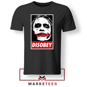 Chaos Disobey Joker Face Tshirt