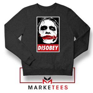 Chaos Disobey Joker Face Sweatshirt