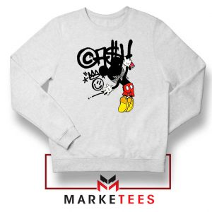 Banksy Mickey Chaos Disobey Sweater
