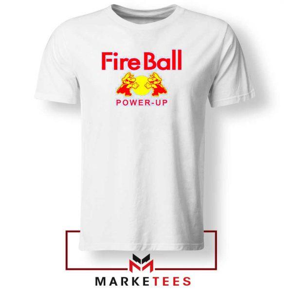 Mario Fire Ball Power Up Tshirt