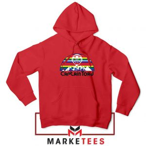 Captain Toad Retrogaming Red Hoodie