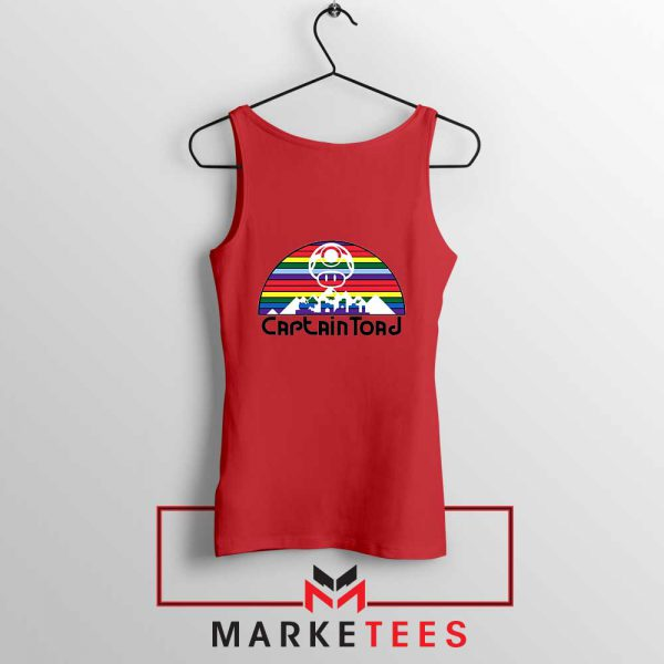 Captain Toad Retrogaming Red Tank Top