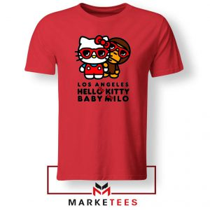 Kitty Milo Los Angeles Graphic Red Tee