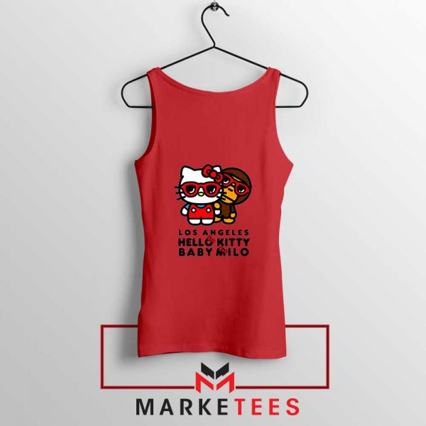 Kitty Milo Los Angeles New Red Tank Top