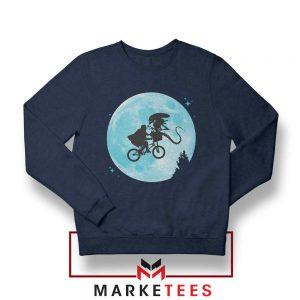 Aliens Extra Terrestrial Navy Blue Sweatshirt