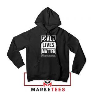 All Life Matter Movement Hoodie