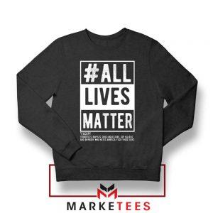 All Life Matter Movement Sweatshirt