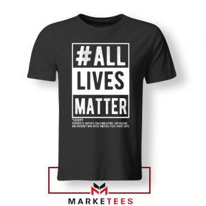 All Life Matter Movement Tshirt