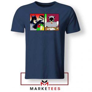 Batman Catwoman Meme Navy Blue Tshirt