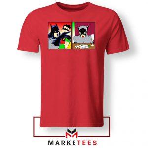 Batman Catwoman Meme Red Tshirt