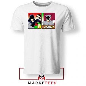 Batman Catwoman Meme White Tshirt