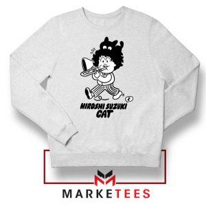 Cat Hiroshi Suzuki Graphic Sweatshirt