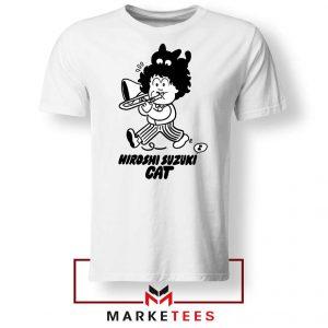 Cat Hiroshi Suzuki Graphic Tshirt