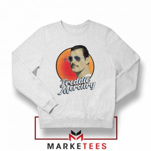Freddie Mercury Sunglasses Sweatshirt