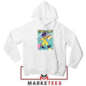 Get Rock Star Max Powerline White Jacket