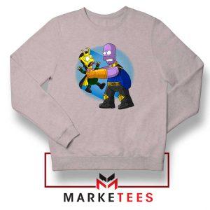 Loki Little God of Mischief Grey Sweater