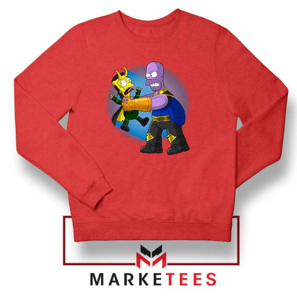 Loki Little God of Mischief Red Sweater