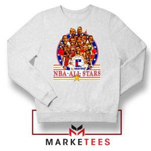 New NBA 1989 All Star White Sweatshirt