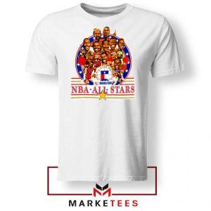 New NBA 1989 All Star White Tshirt