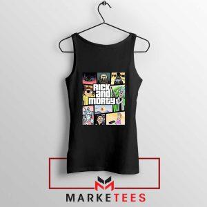 New Rick and Morty GTA Logo Tank Top