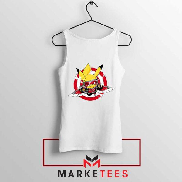 Pikachu The Falcon Design Tank Top