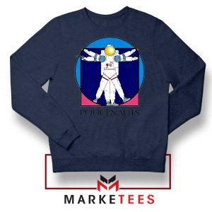 Policenauts Game Design Navy Blue Sweatshirt