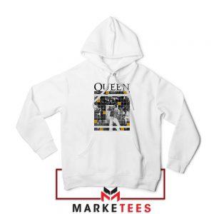 Queen Freddie Grid Designs Hoodie