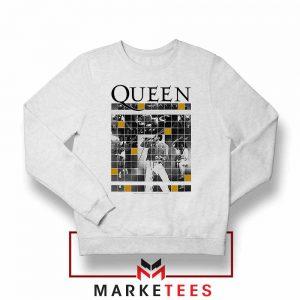 Queen Freddie Grid Designs Sweater