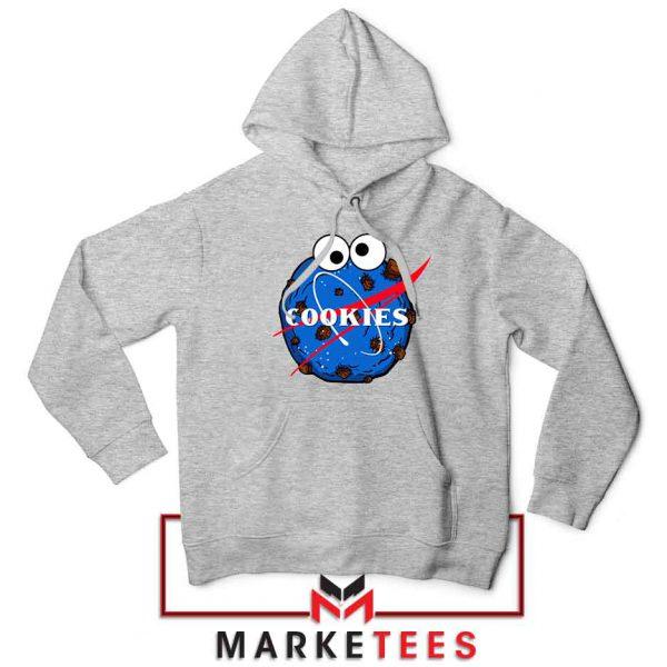 Space Cookies Funny Sport Grey Hoodie