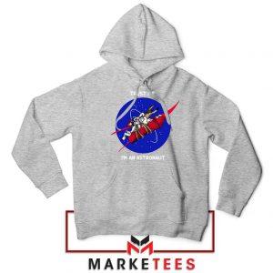 Trust Me I am An Astronaut Sport Grey Hoodie