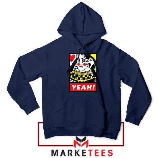 Yeah Poker Queen Design Navy Jacket