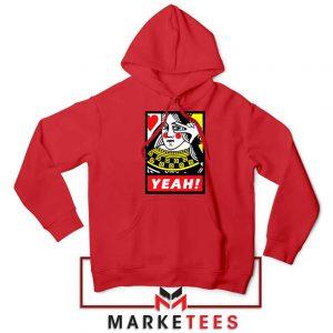 Yeah Poker Queen Design Red Jacket