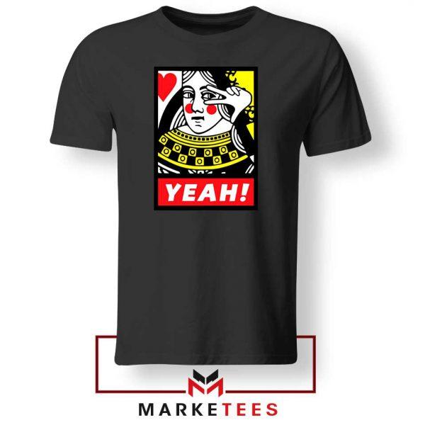 Yeah Poker Queen Design Tee