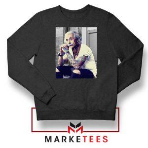 Albert Einstein Tattoo Sweatshirt