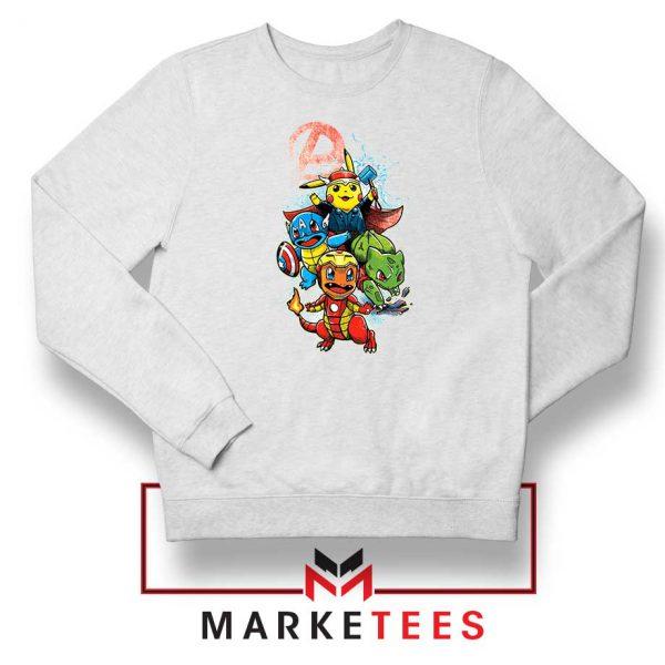 Avengers Pokemon Superhero Sweatshirt