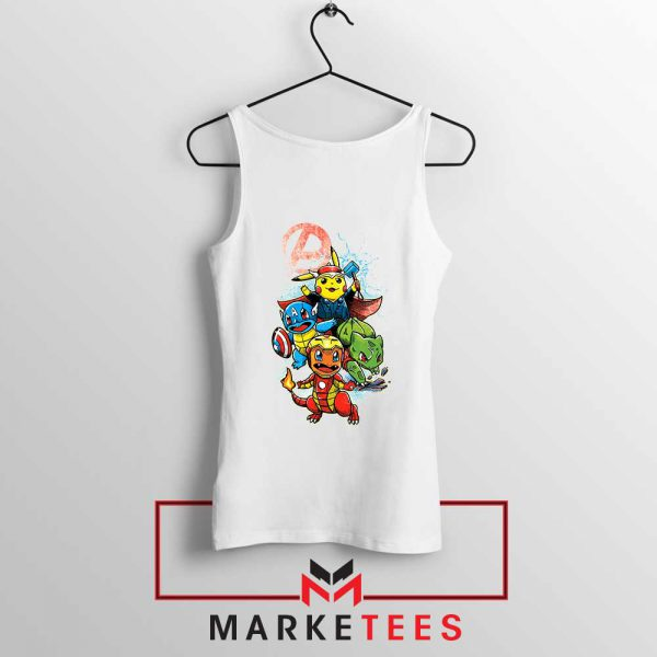 Avengers Pokemon Superhero Tank Top