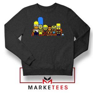 Baby Milo Simpson Family Black Sweatshirt