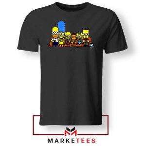 Baby Milo Simpson Family Black Tshirt