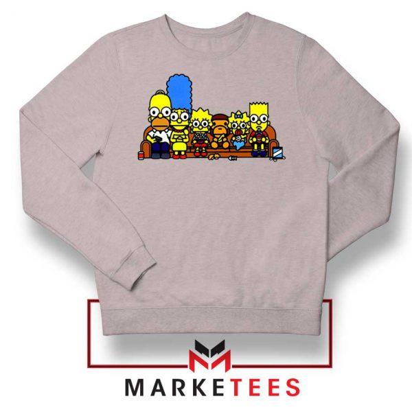 Baby Milo Simpson Family Grey Sweatshirt