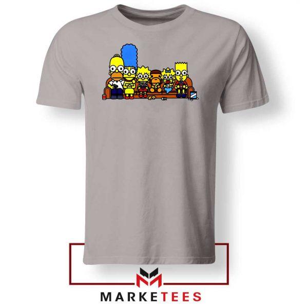 Baby Milo Simpson Family Grey Tshirt