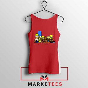 Baby Milo Simpson Family Red Tank Top