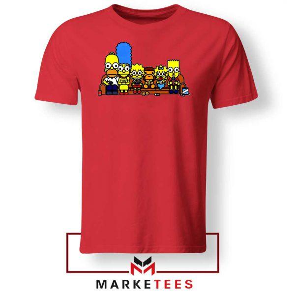 Baby Milo Simpson Family Red Tshirt