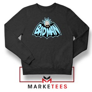 Bad Man Logo Rick and Morty Sweater