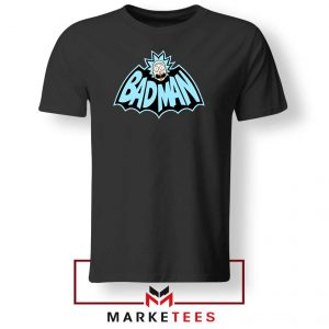Batman Logo Rick and Morty Tee